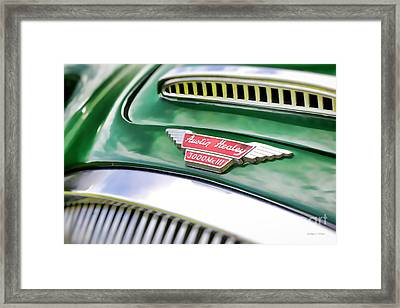 Austin Healey 3000 Mk IIi Framed Print by Gordon Wood