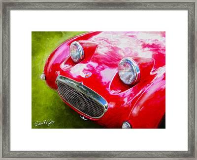 Austin Healey Bugeye Sprite Framed Print by David Kyte