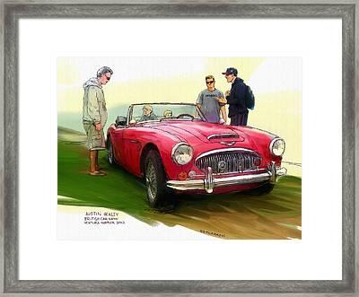 Austin Healey Framed Print by RG McMahon