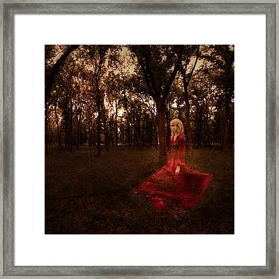 Lost Framed Print by Amber Dopita