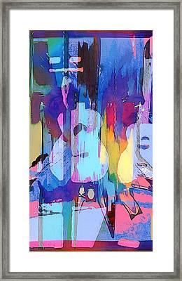 Austin Music Framed Print