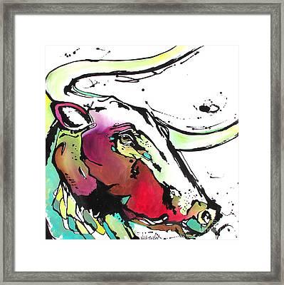 Austin Framed Print by Nicole Gaitan