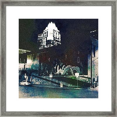 Austin Night Framed Print