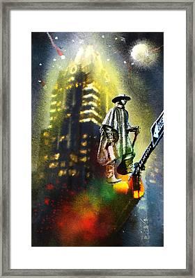 Austin Nights 01 Framed Print