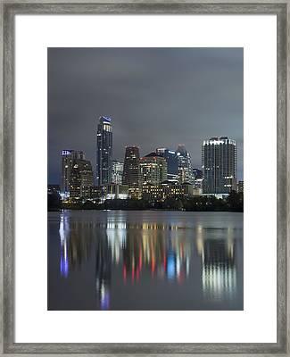 Austin Reflections Framed Print
