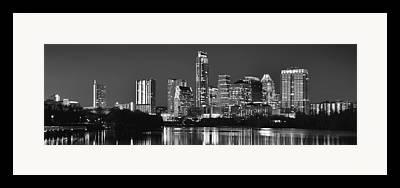 Austin Skyline Framed Prints