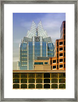 Austin Speaks Framed Print