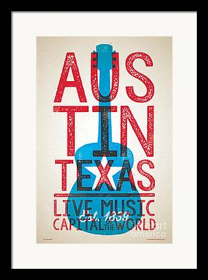 Austin Weird Framed Prints