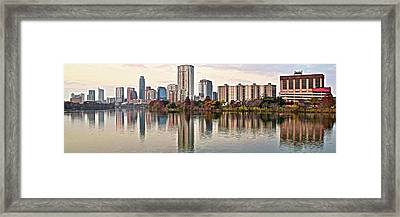 Austin Wide Shot Framed Print by Frozen in Time Fine Art Photography