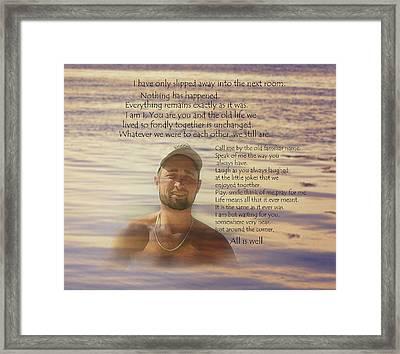 Austins Blanket Framed Print
