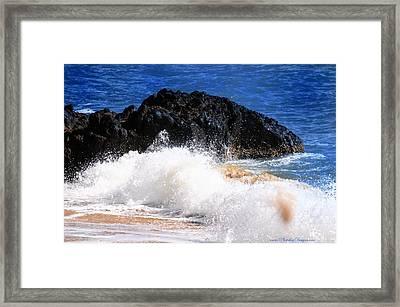 Australia Beach 2738 Framed Print by PhotohogDesigns