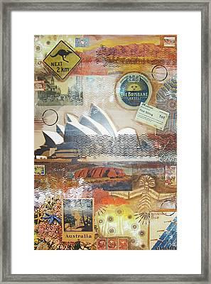 Australia Framed Print by Leigh Banks