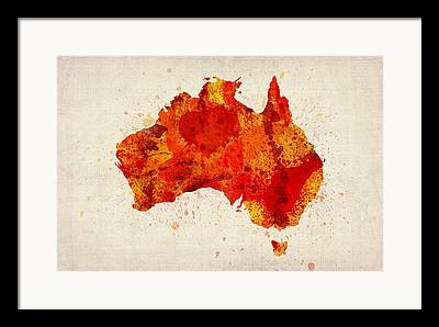 Australia Digital Art Framed Prints