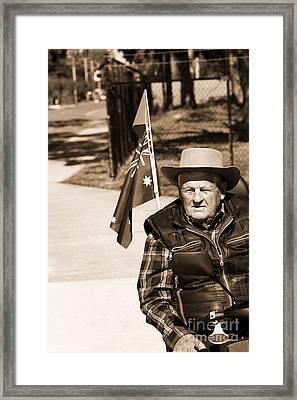 Australian Battler Framed Print by Jorgo Photography - Wall Art Gallery