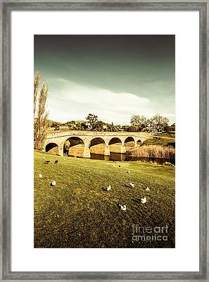 Australian Bridges Framed Print by Jorgo Photography - Wall Art Gallery