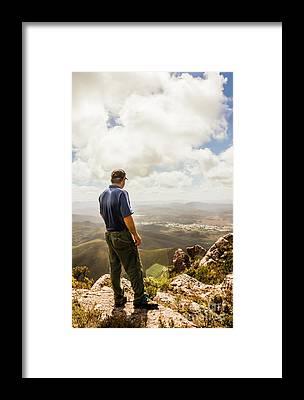 Lookout Framed Prints