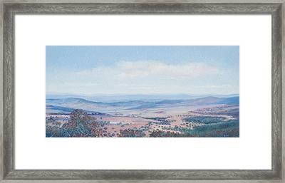 Australian Landscape - Mt Tamborine Framed Print by Jan Matson