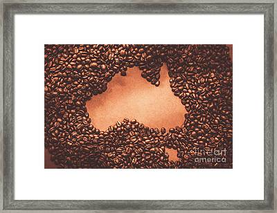 Australian Made Coffee Framed Print by Jorgo Photography - Wall Art Gallery
