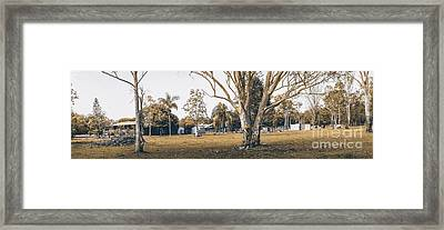 Australian Rural Countryside Landscape Framed Print by Jorgo Photography - Wall Art Gallery
