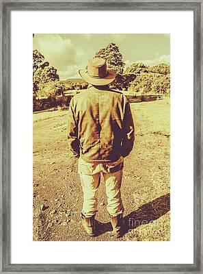 Australian Rural Life Framed Print by Jorgo Photography - Wall Art Gallery