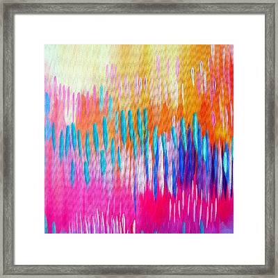 Australian Spring Framed Print by Cathy Jacobs