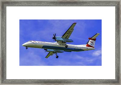 Austrian Air Services Flight Framed Print by Robert Laible