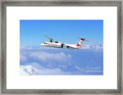 Austrian Arrows Bombardier Q400 Framed Print