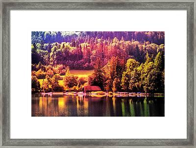Austrian Autumn Framed Print by Kathy Kelly