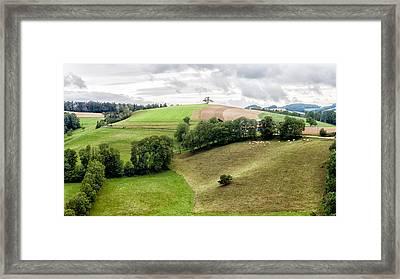 Austrian Landscape Framed Print by John Hesley