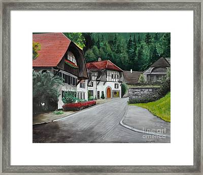 Austrian Village Framed Print