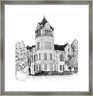 Autauga County Courthouse Framed Print