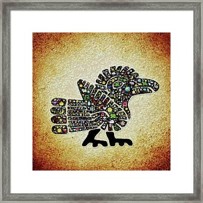 Authentic Aztec Wall Art Framed Print