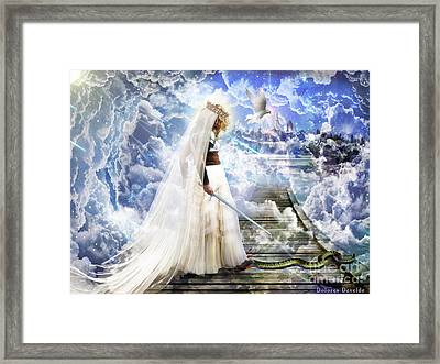 Authority Over Darkness Framed Print