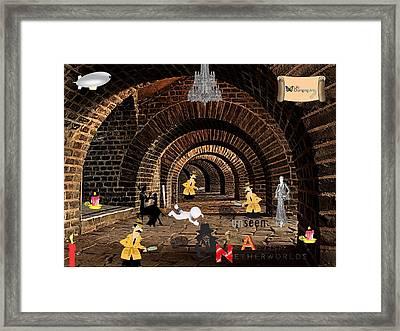 Autism Netherworlds Framed Print