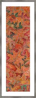 Autmn's Leaves Framed Print