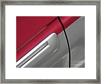 Auto Detail 3 Framed Print