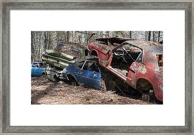 Auto Erotic Framed Print by Robert Myers