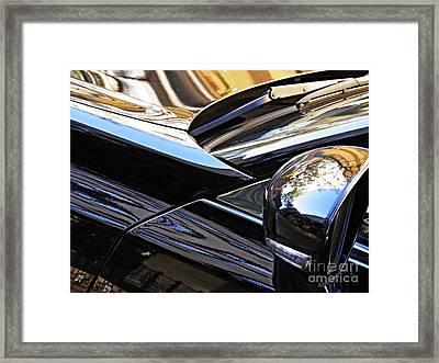 Auto Headlight 175 Framed Print by Sarah Loft