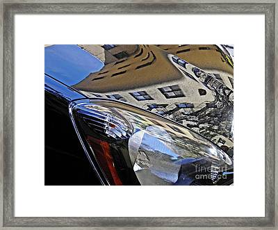 Auto Headlight 178 Framed Print