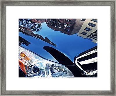 Auto Headlight 182 Framed Print by Sarah Loft