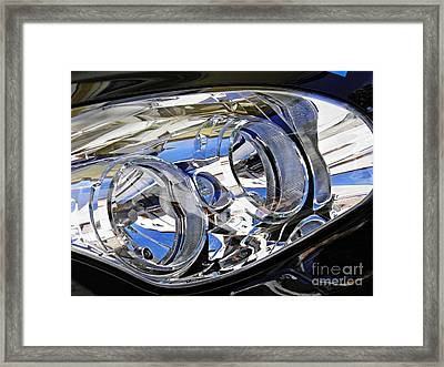 Auto Headlight 185 Framed Print