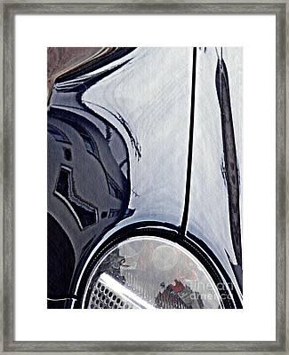 Auto Headlight 188 Framed Print