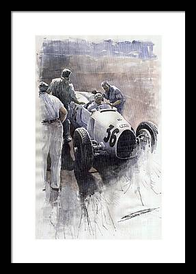 Italian Sports Car Framed Prints