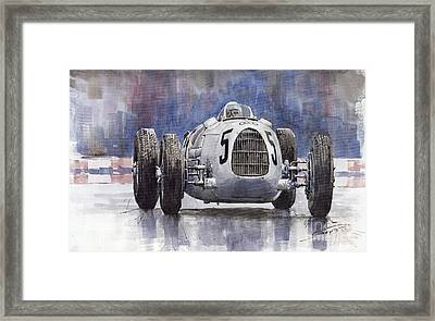 Auto-union Type C 1936 Framed Print