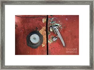 Automobilia Framed Print