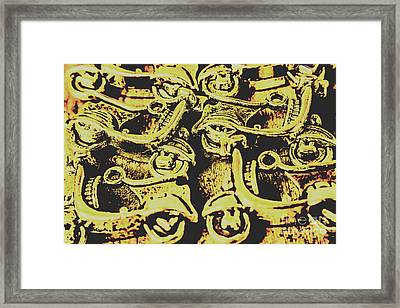 Automotive Pop Art Framed Print
