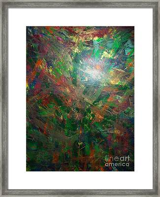 Autum Forrest 1 Framed Print