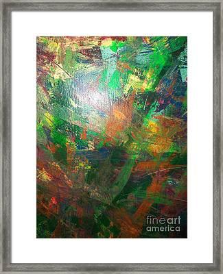 Autum Forrest 3 Framed Print