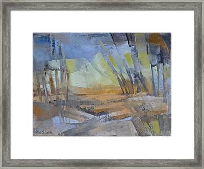 Autum Light Framed Print
