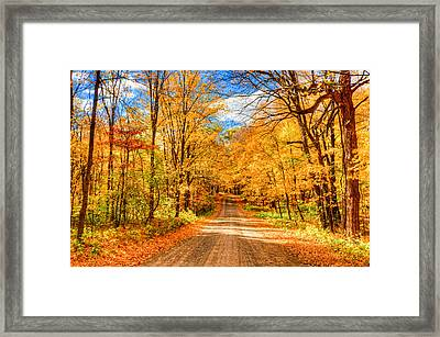 Autum Framed Print by RC Pics